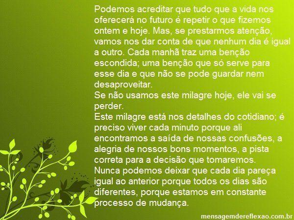 Paulo Coelho para pensar..