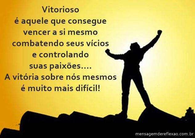 Vitorioso…