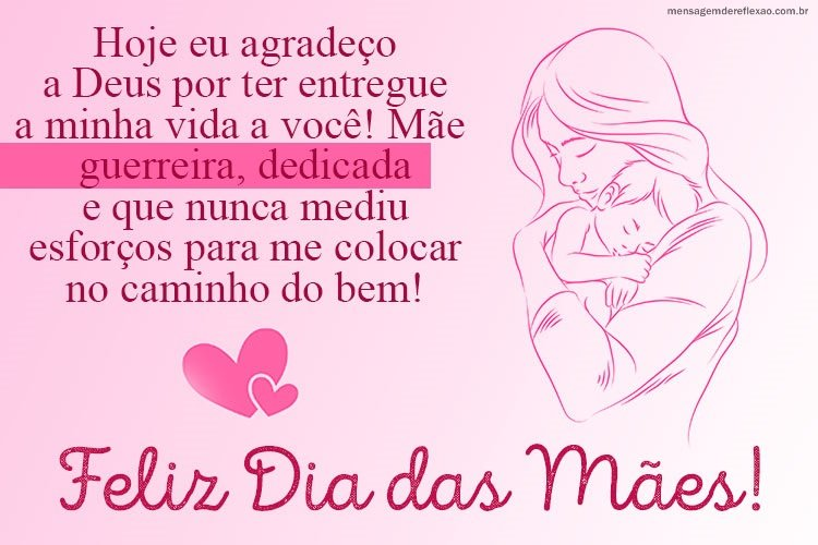 Mensagem para o Dia das Mães