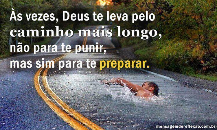 Deus não te pune, ele te Prepara!