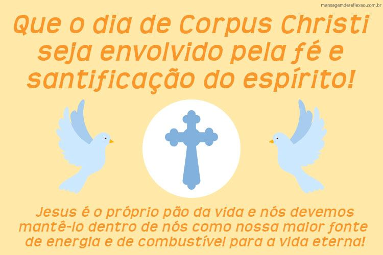 Mensagem de Corpus Cristhi