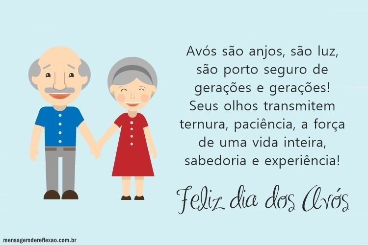 Mensagem Dia Das Avos: Mensagem Para Dia Dos Avós