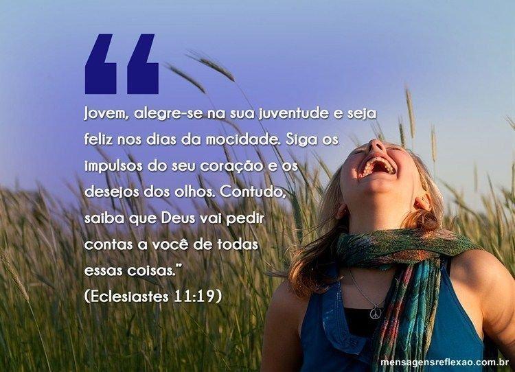 Mensagem Bíblica para Jovens