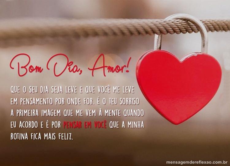 Mensagem De Bom Dia Domingo Amor Reflexão Da Mensagem E Da