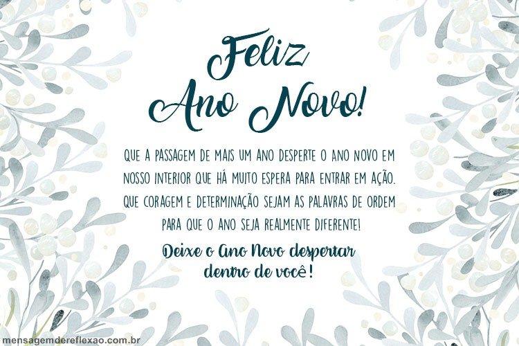 Mensagem de Ano Novo