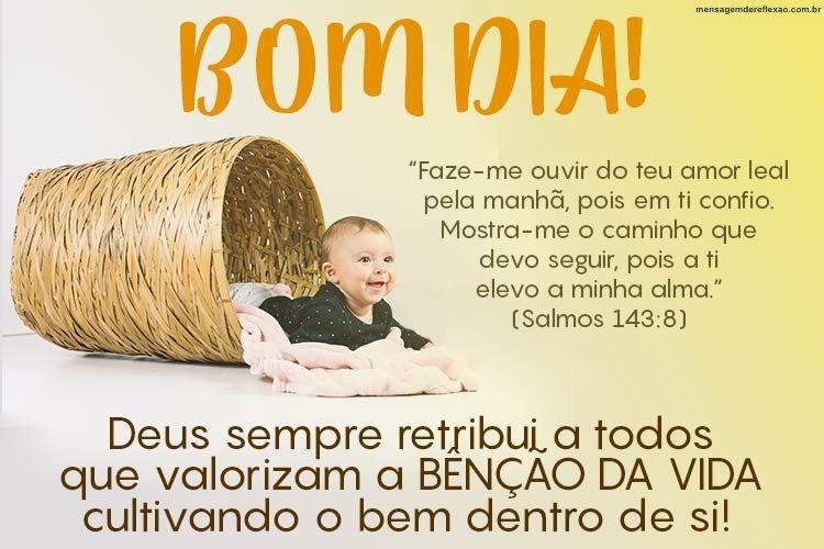 Mensagem Bíblica De Bom Dia Mensagens De Reflexão