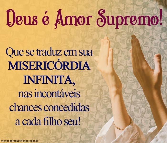 Mensagem sobre o Amor de Deus