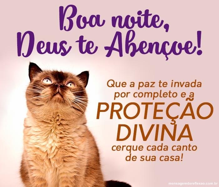 Boa Noite, Deus te Abençoe!