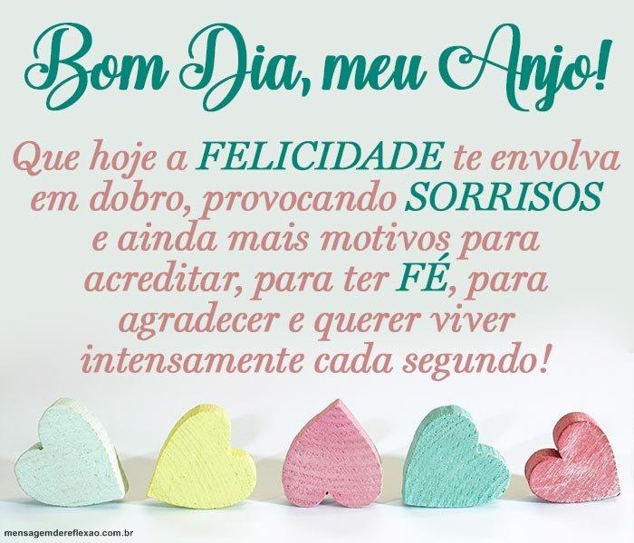 Bom Dia meu Anjo!