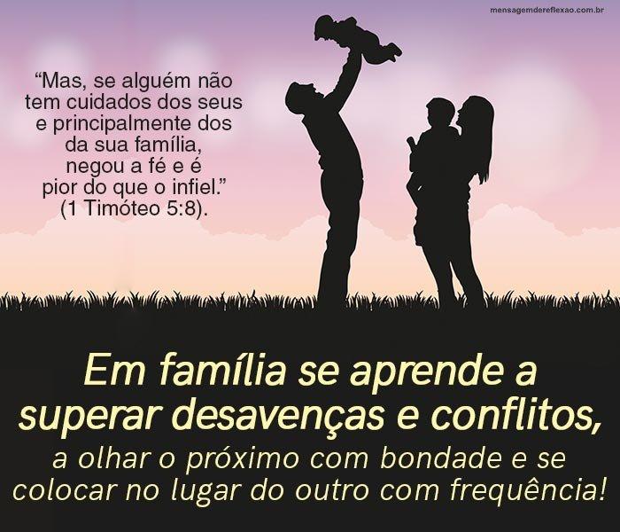 Texto Bíblico sobre Família
