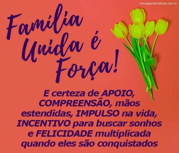 Mensagem para Família Unida