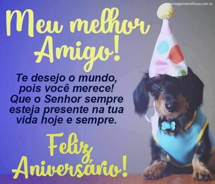 Mensagem de Aniversário para Melhor Amigo