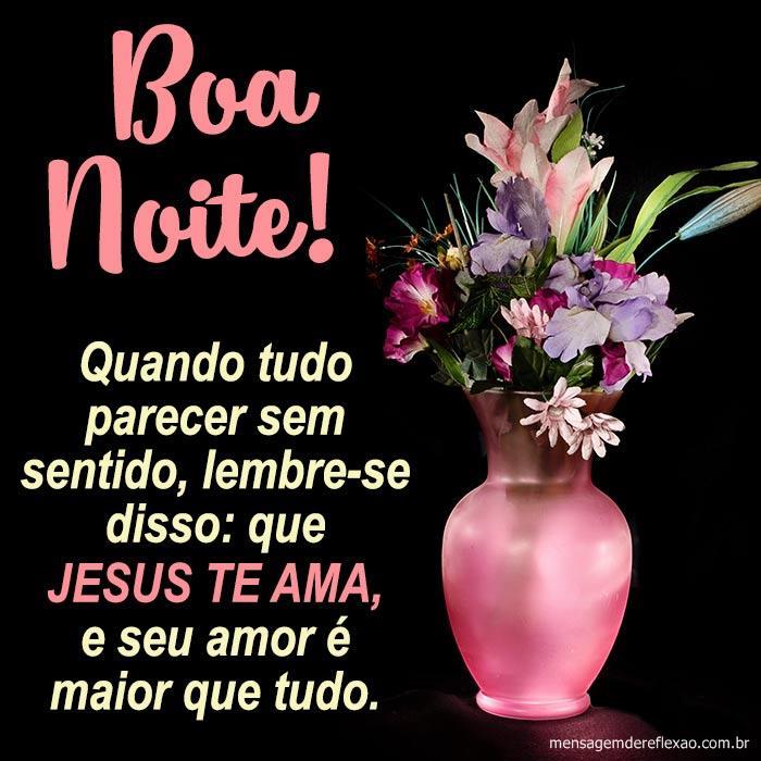 Boa noite, Jesus te Ama