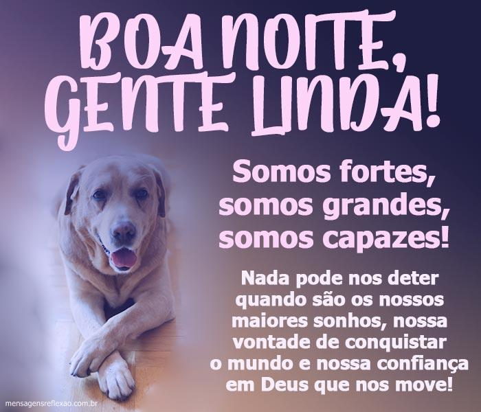 Boa noite Gente Linda