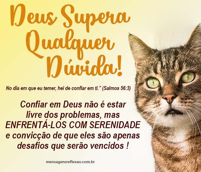 Deus Supera Qualquer Dúvida