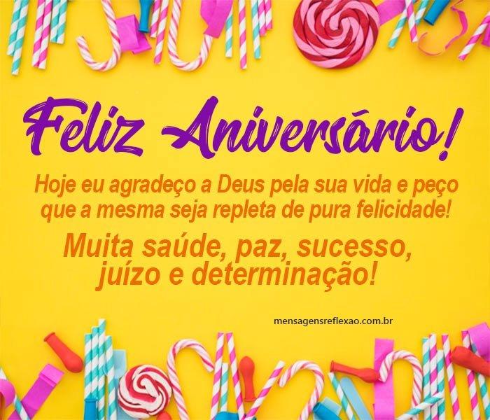 Feliz Vida Feliz Aniversário