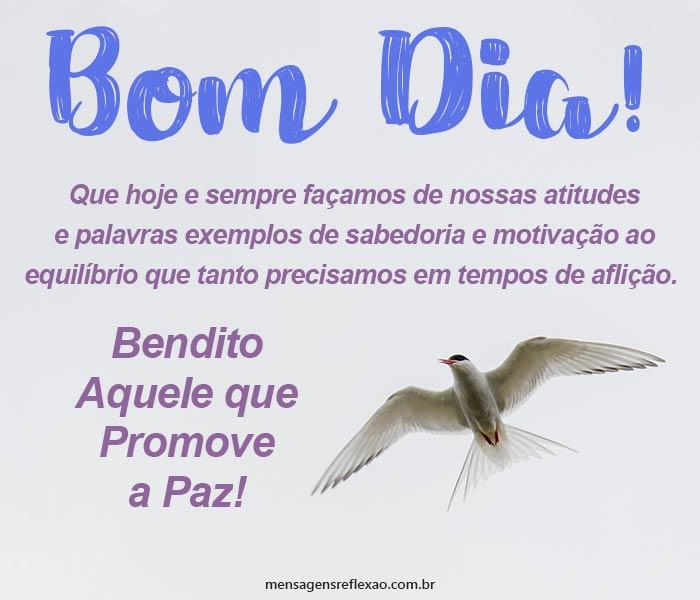 Bom Dia, Promova a Paz!
