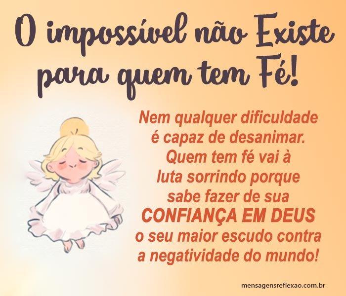 O Impossível não Existe para Quem tem Fé