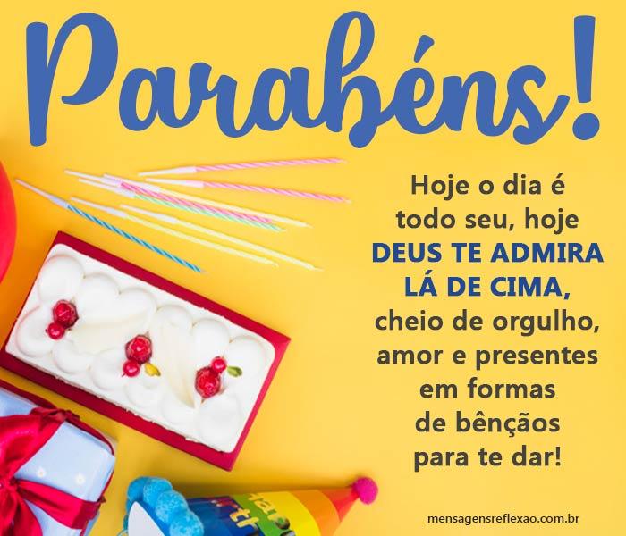 Parabéns, Deus Celebra a sua Vida!