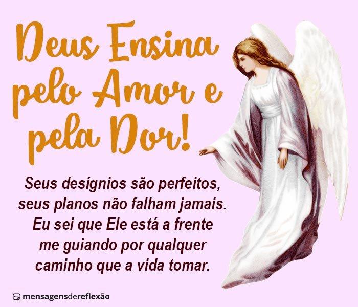 Deus Ensina pelo Amor e pela Dor