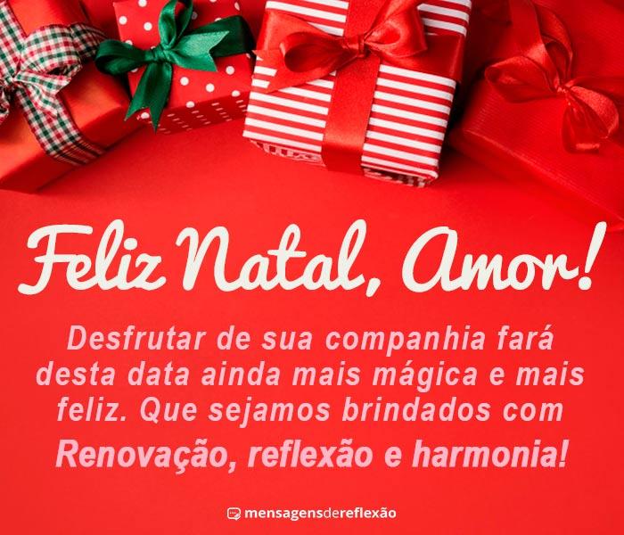 Feliz Natal Amor