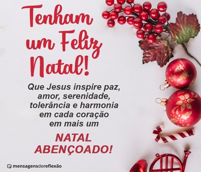 Mensagem Evangélica de Natal