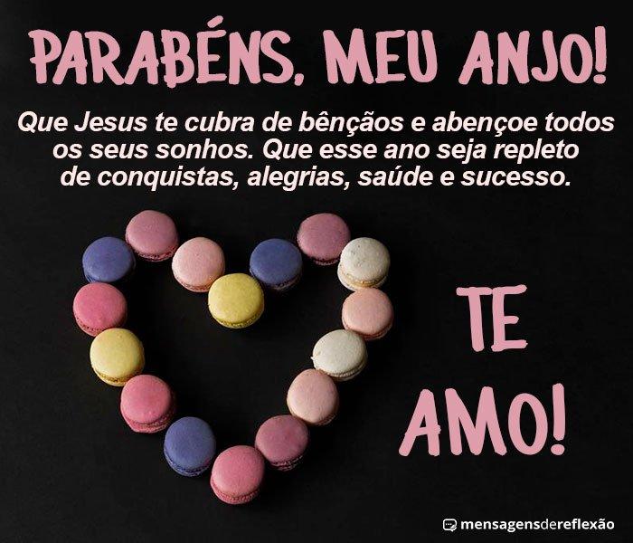 Parabéns meu Anjo, Te Amo!