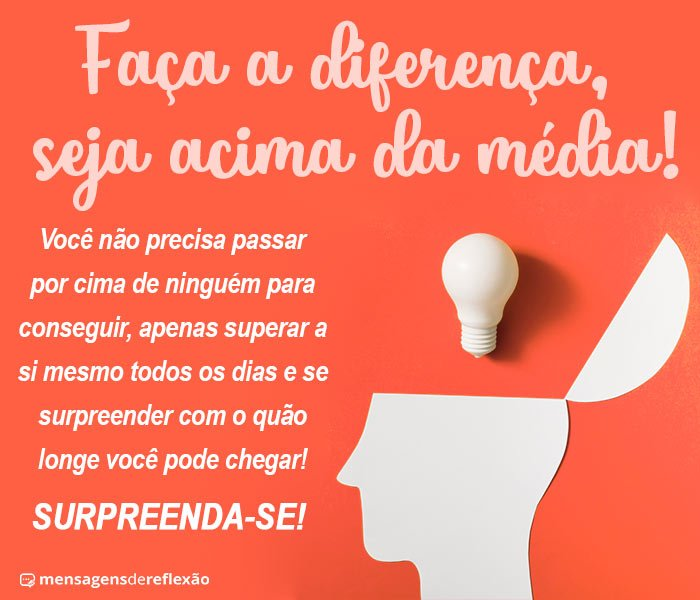 Supere-se, Surpreenda-se!