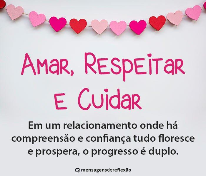 Amar, Respeitar e Cuidar