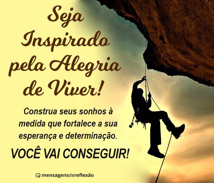 Seja Inspirado pela Alegria de Viver